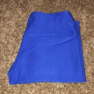 Blue LuLaRoe Leggings